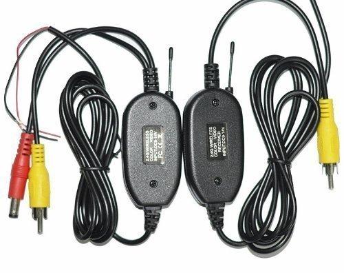 Zettaguard ZBC-101 Wireless RCA Video Transmitter & Receiver Kit for Car Rear View Camera