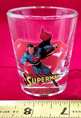 (Toon TumblerTM: SUPERMAN (DC) Collectible Mini-glass (Shot Glass))