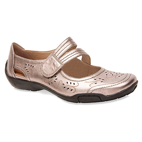 Ros Hommerson Chelsea Mary Jane Vrouwen Slip On Shoes Pewter
