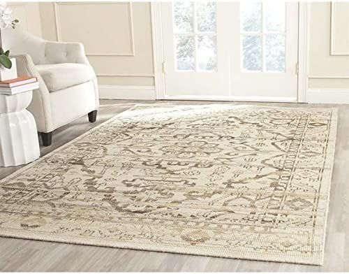 Safavieh Kenya Collection KNY817A Handmade Natural Premium Wool Area Rug 9' x 12'