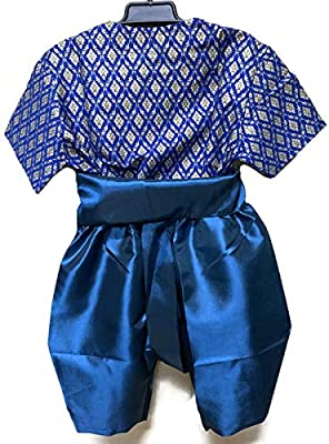 Amazon.com: PKC_Tshirt TS005 Traje tradicional asiático para ...