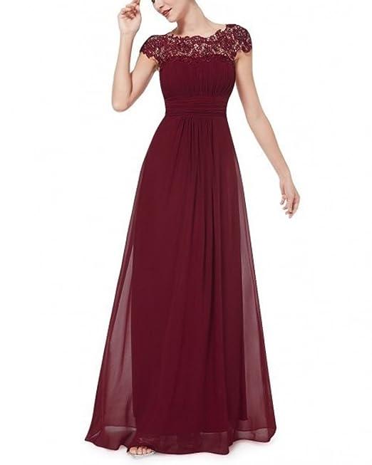 Minetom Vestido de Fiesta Largo para Boda Vestido de Dama de Honor de la Novia Vestido