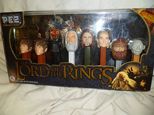 Pez Lord Of The Rings 2011 Collector Series Candy Not Included