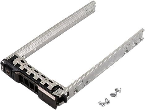 "2.5/"" Sata SAS HDD Hard Drive Caddy Tray 4PCS Screws For Dell PowerEdge T710 New"