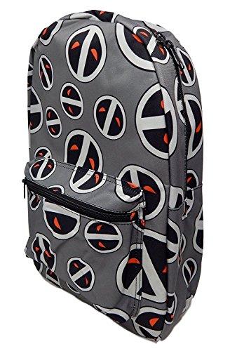 Marvel Comics Deadpool Licensed Xforce Backpack School Book Bag Gym Travel -