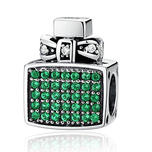 Everbling Chic Lady Fashion Bag Perfume 925 Sterling Silver Bead Fits European Charm Bracelet (Perfume Bottle)