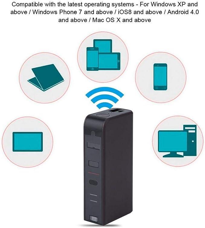 MLCJR Proyección inalámbrica Bluetooth Teclado Virtual y ...