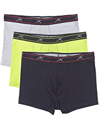 "Men's Silkskins 3"" Trunk Briefs With Pouch (Pack Of 3)"