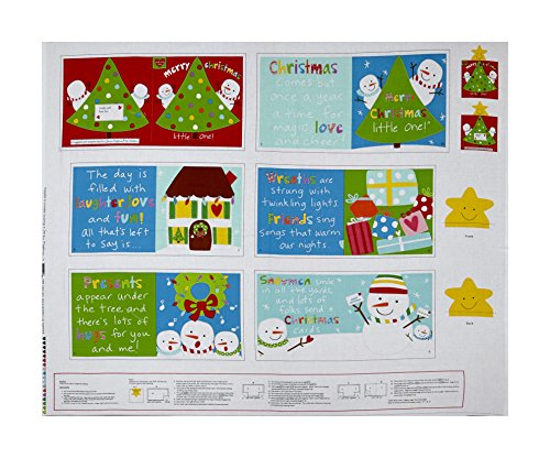 Fabric Merry Christmas (Studio E Fabrics Huggable & Loveable Holiday Books Merry Christmas Little One 36