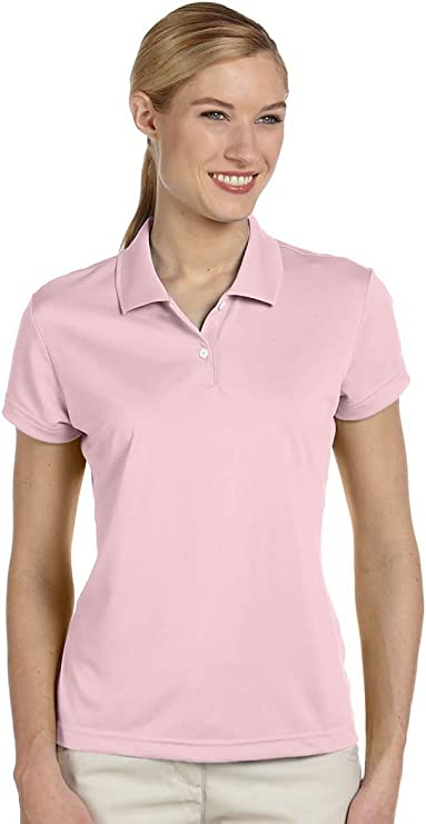 adidas A122 Ladies' Climalite PiquÌ Polo best women's golf shirt