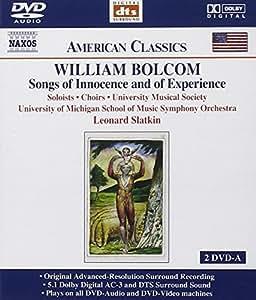 Bolcom: Songs of Innocence Dv (DVD Audio)