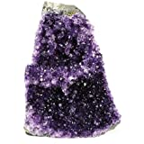 Crystal Allies Specimens: Natural Amethyst Quartz Crystal Cluster from Uruguay w/ Natural Edges - Choose You Size