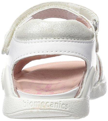 Biomecanics 162160-B - Sandalias para niñas Blanco (Sauvage)