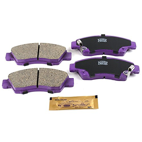NiBK PN8265 – Noise-Free, Dust-less , Rotor Friendly Premium Ceramic Brake Pads