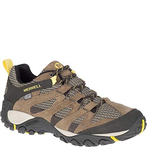Merrell Women's ALVERSTONE Waterproof Hiking Shoe, Brindle, 08.5 M US (Running Waterproof Merrell Shoes)