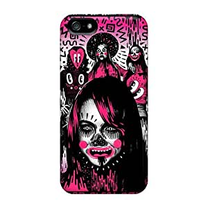 Iphone 5/5s VUZ16218nqiM Support Personal Customs Lifelike Green Day Pictures Anti-Scratch Hard Phone Cases -DrawsBriscoe