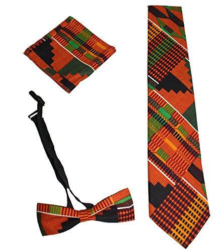 Kente Tie Set - Style 1 (Tie A)