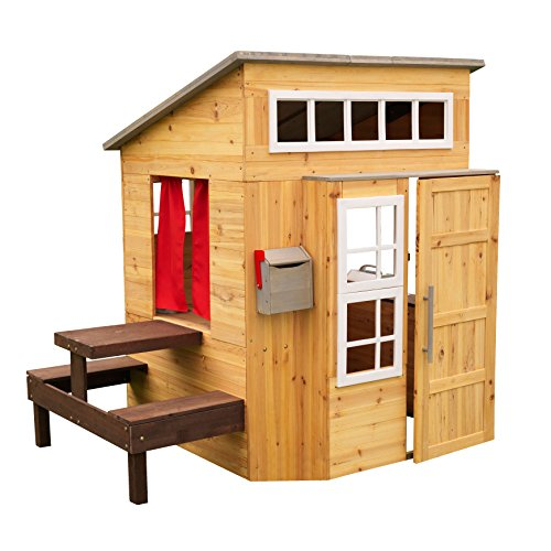 outdoor wooden playhouse - 3