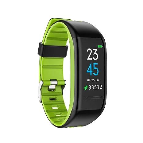 QTRT Reloj de pulsera inteligente, brazalete de presión arterial ...