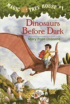 Dinosaurs Before Dark 0590623524 Book Cover