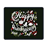 Happy Thanksgiving Smooth Nice Personality Design Mobile Gaming Mouse Pad Work Mouse Pad Office Pad
