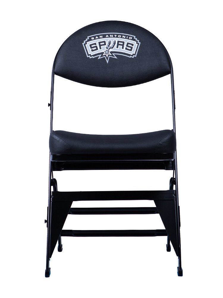 Spec Seats Official NBA Licensed X-Frame Courtside Seat San Antonio Spurs by Spec Seats