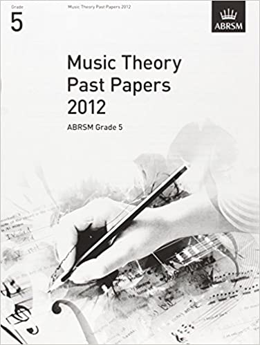 Abrsm Theory Of Music Exam 2013 Past Paper Model Answers Grade 5 Learn To Book Suitable For Men And Women Of All Ages In All Seasons Instruction Books, Cds & Video