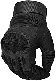 Motorcycle Gloves, Cycling Scooter Glove Man Hard Knuckle Touchscreen for Motorcycle ATV Bike Climbing Hiking