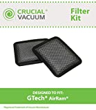 2 Replacements for Gtech AirRam Filter Fits High-Power Cordless...