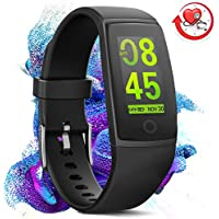 MorePro X-Core Waterproof Fitness Tracker, Color Screen...