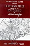 Front cover for the book Wainwright Maps of the Lakeland Fells: Map 5, The Northern Fells by A. Wainwright