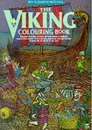 The Viking Colouring Book Various Amazon Co Uk Musical Instruments