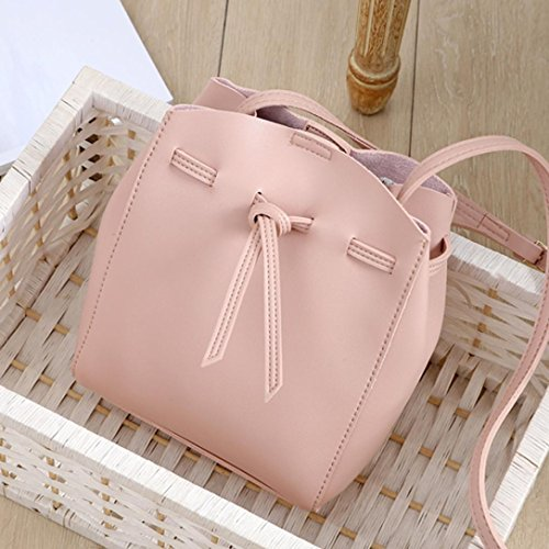 Women Bag Z Pink Capacity Handbags for Cross Large Body Shoulder Ladies Bags TOPUNDER 6Pwztq1t