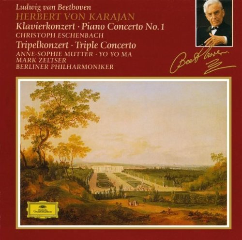 Beethoven: Piano Concerto No.1 / Triple Concerto by Anne-Sophie Mutter