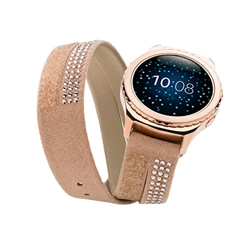 Samsung GP-R732SWEEADA Smartwatch Replacement Band for Gear S2, Gold