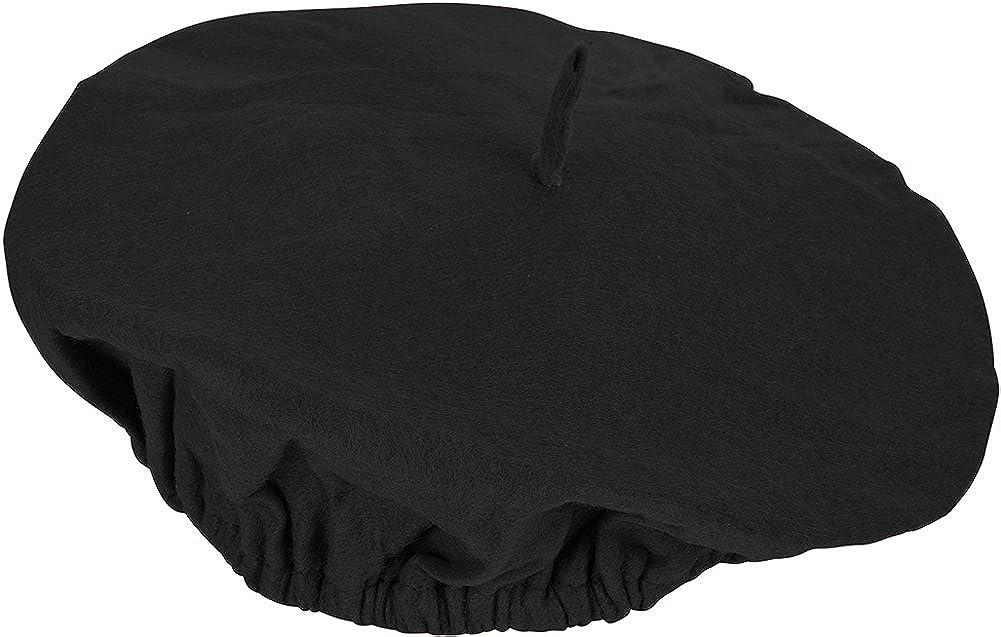 3c5a231c1 Amazon.com: Adults Suave Black French Mime Artist Beret Hat Costume ...