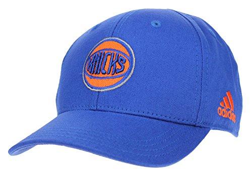adidas NBA Toddlers New York Knicks Basic Adjustable Strap Cap, Blue