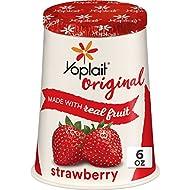 Yoplait Original Yogurt, Original Strawberry, Low Fat Yogurt, 6 oz
