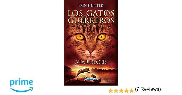 ATARDECER (Gatos: La nueva profecía VI) (Juvenil): Amazon.es: Erin Hunter: Libros