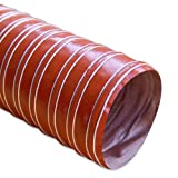Mishimoto MMHOSE-D4 4'' x 12' Heat Resistant Silicone Ducting