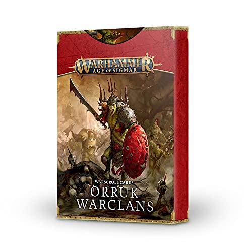 Warhammer Age of Sigmar - Orruk Warclans Warscroll Cards