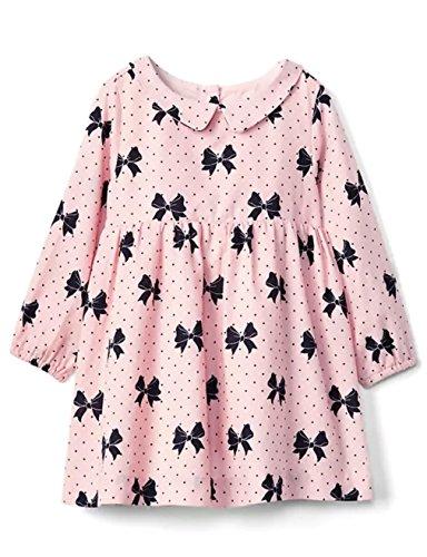 GAP Baby Girl Bow Print Collar Dress Size 3-6M, 6-12M, 12-18M, 18-24M (12-18M) from GAP