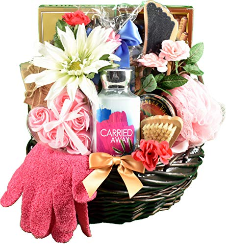 A Sweet Escape, Spa & Chocolates Gift Basket For Her - Spoil Her In Luxury With Decadent Chocolates & Personal Care Items & Lotions