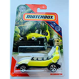 Matchbox 1:64 Scale MBX Jungle 71/100 Big Banana Car