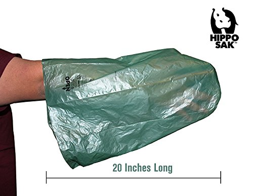 Hippo Sak Extra Large Pet Poop Bags for Large Dogs and Cat Litter, 240 Count by Hippo Sak (Image #3)