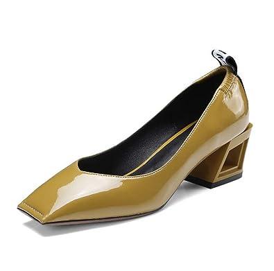 Resultado de imagen de zapatos mujer punta cuadrada