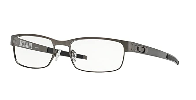 Oakley Metal Plate OX5038-0655 Brushed Chrome Clear Demo 55 at ...