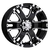 Ultra Wheel 202B Baron Matte Black Wheel (17x9''/6x135mm, +25 mm offset)