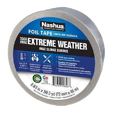 Weather Foil Tape - (4) rolls Berry / Nashua # 330 1087665 2.83