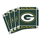 NFL Green Bay Packers 4-Pack Ceramic Coasters